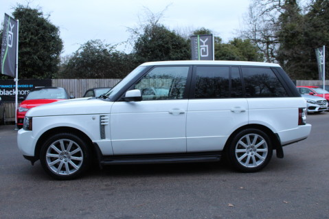 Land Rover Range Rover TDV8 WESTMINSTER - RARE WHITE WITH IVORY LEATHER 7