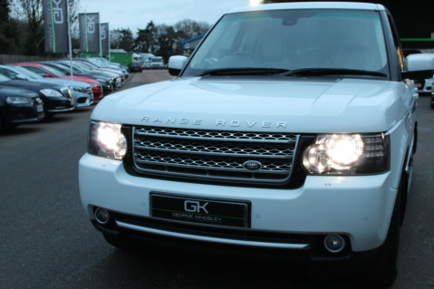 Land Rover Range Rover TDV8 WESTMINSTER - RARE WHITE WITH IVORY LEATHER 10