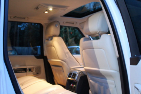 Land Rover Range Rover TDV8 WESTMINSTER - RARE WHITE WITH IVORY LEATHER 58