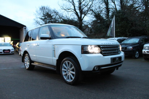 Land Rover Range Rover TDV8 WESTMINSTER - RARE WHITE WITH IVORY LEATHER 62
