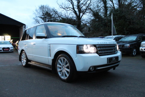 Land Rover Range Rover TDV8 WESTMINSTER - RARE WHITE WITH IVORY LEATHER 63