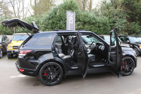 Land Rover Range Rover Sport SDV6 AUTOBIOGRAPHY DYNAMIC - REAR ENTERTAINMENT -DIGITAL TV - EURO 6 78