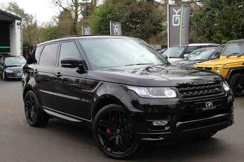 Land Rover Range Rover Sport SDV6 AUTOBIOGRAPHY DYNAMIC - REAR ENTERTAINMENT -DIGITAL TV - EURO 6 1