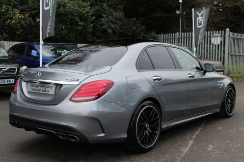 Mercedes-Benz C Class AMG C 63 S PREMIUM-AMG EXHAUST/NIGHT PK/INTELIGENT LED 6