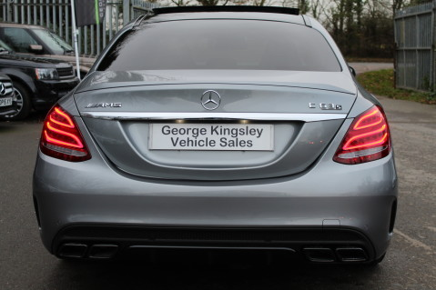 Mercedes-Benz C Class AMG C 63 S PREMIUM-AMG EXHAUST/NIGHT PK/INTELIGENT LED 8