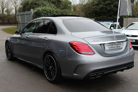 Mercedes-Benz C Class AMG C 63 S PREMIUM-AMG EXHAUST/NIGHT PK/INTELIGENT LED 10