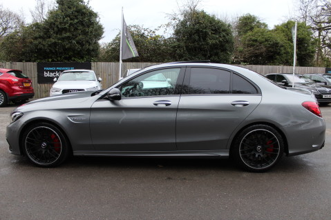 Mercedes-Benz C Class AMG C 63 S PREMIUM-AMG EXHAUST/NIGHT PK/INTELIGENT LED 12
