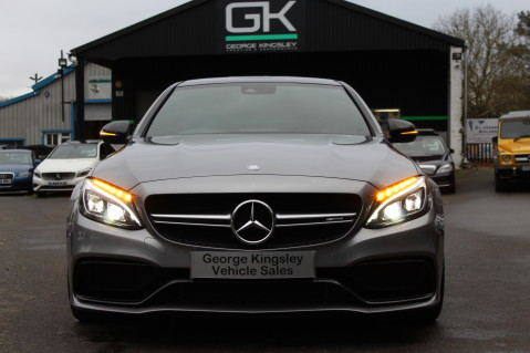 Mercedes-Benz C Class AMG C 63 S PREMIUM-AMG EXHAUST/NIGHT PK/INTELIGENT LED 17