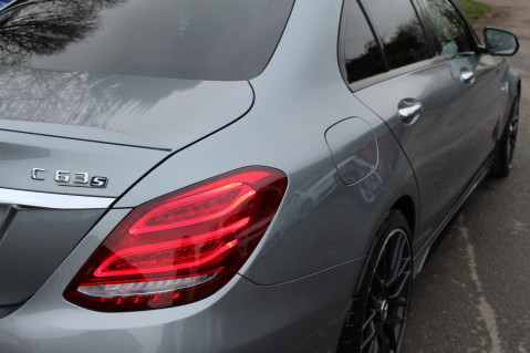 Mercedes-Benz C Class AMG C 63 S PREMIUM-AMG EXHAUST/NIGHT PK/INTELIGENT LED 24
