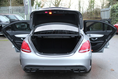 Mercedes-Benz C Class AMG C 63 S PREMIUM-AMG EXHAUST/NIGHT PK/INTELIGENT LED 74