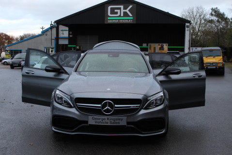 Mercedes-Benz C Class AMG C 63 S PREMIUM-AMG EXHAUST/NIGHT PK/INTELIGENT LED 77