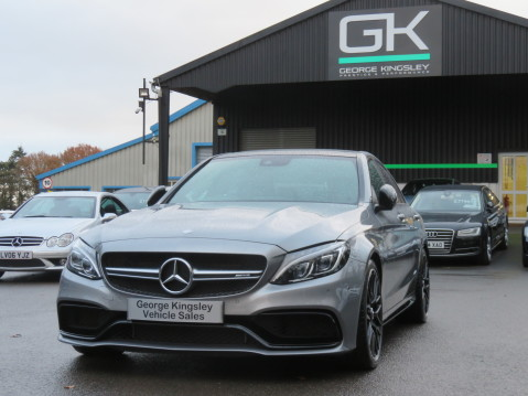 Mercedes-Benz C Class AMG C 63 S PREMIUM-AMG EXHAUST/NIGHT PK/INTELIGENT LED 81