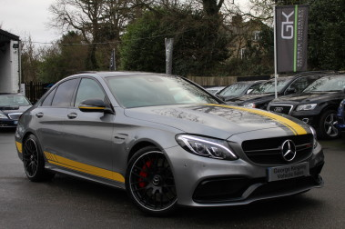 Mercedes-Benz C Class AMG C 63 S PREMIUM-AMG EXHAUST/NIGHT PK/INTELIGENT LED