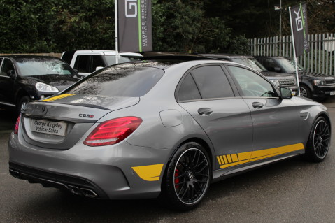 Mercedes-Benz C Class AMG C 63 S PREMIUM-AMG EXHAUST/NIGHT PK/INTELIGENT LED 7