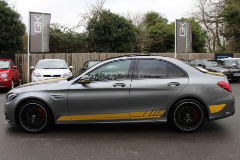 Mercedes-Benz C Class AMG C 63 S PREMIUM-AMG EXHAUST/NIGHT PK/INTELIGENT LED 13