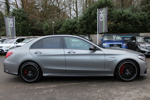 Mercedes-Benz C Class AMG C 63 S PREMIUM-AMG EXHAUST/NIGHT PK/INTELIGENT LED 4
