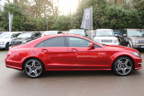 Mercedes-Benz CLS CLS63 5.5 AMG - 557BHP - HYACINTH RED - LANE ASSIST 4