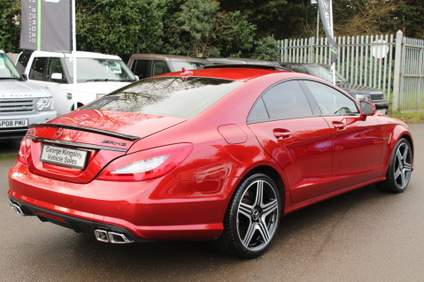 Mercedes-Benz CLS CLS63 5.5 AMG - 557BHP - HYACINTH RED - LANE ASSIST 5
