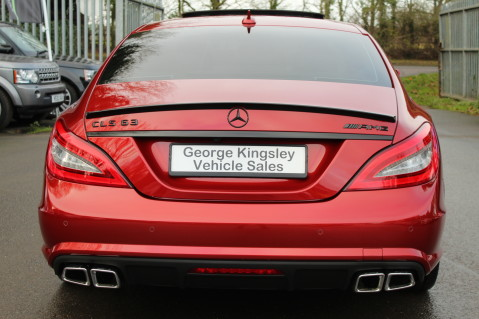 Mercedes-Benz CLS CLS63 5.5 AMG - 557BHP - HYACINTH RED - LANE ASSIST 6