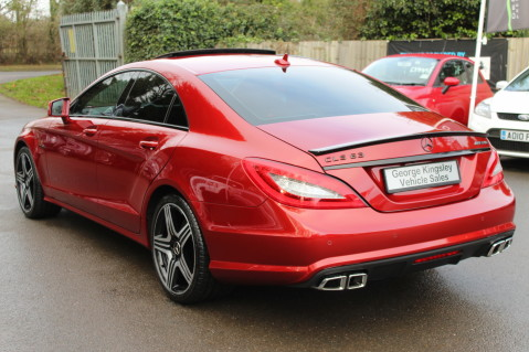 Mercedes-Benz CLS CLS63 5.5 AMG - 557BHP - HYACINTH RED - LANE ASSIST 3