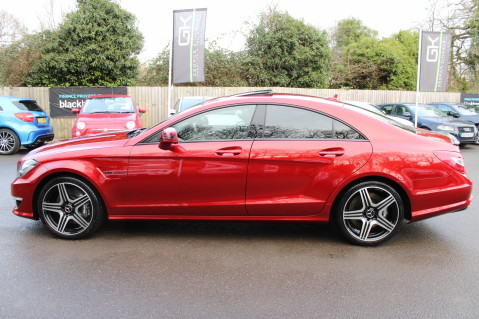 Mercedes-Benz CLS CLS63 5.5 AMG - 557BHP - HYACINTH RED - LANE ASSIST 7