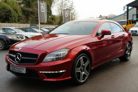 Mercedes-Benz CLS CLS63 5.5 AMG - 557BHP - HYACINTH RED - LANE ASSIST 8