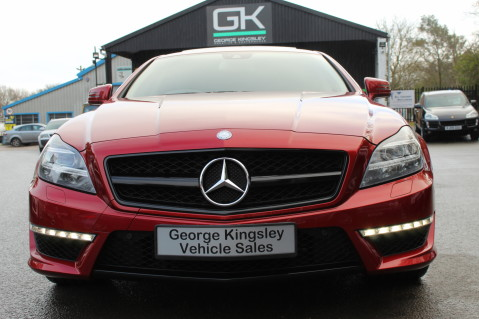 Mercedes-Benz CLS CLS63 5.5 AMG - 557BHP - HYACINTH RED - LANE ASSIST 9