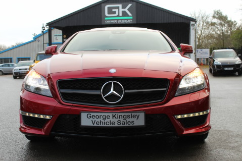 Mercedes-Benz CLS CLS63 5.5 AMG - 557BHP - HYACINTH RED - LANE ASSIST 10