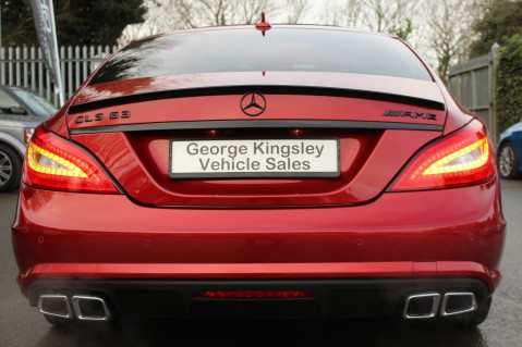 Mercedes-Benz CLS CLS63 5.5 AMG - 557BHP - HYACINTH RED - LANE ASSIST 11