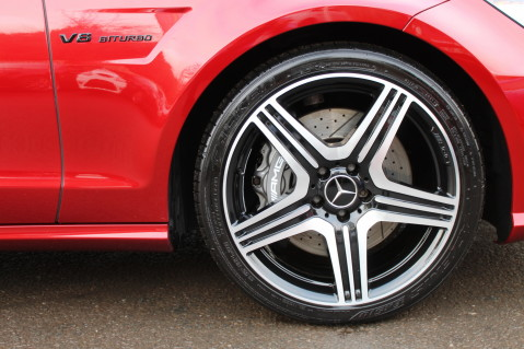 Mercedes-Benz CLS CLS63 5.5 AMG - 557BHP - HYACINTH RED - LANE ASSIST 13