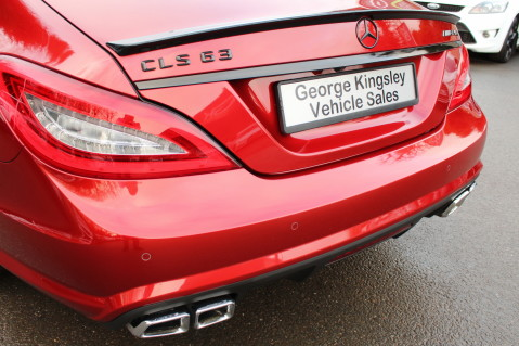 Mercedes-Benz CLS CLS63 5.5 AMG - 557BHP - HYACINTH RED - LANE ASSIST 15
