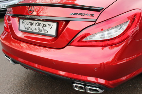 Mercedes-Benz CLS CLS63 5.5 AMG - 557BHP - HYACINTH RED - LANE ASSIST 16