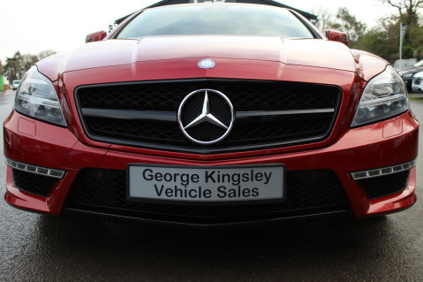 Mercedes-Benz CLS CLS63 5.5 AMG - 557BHP - HYACINTH RED - LANE ASSIST 20