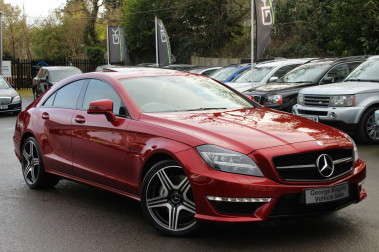 Mercedes-Benz CLS CLS63 5.5 AMG - 557BHP - HYACINTH RED - LANE ASSIST