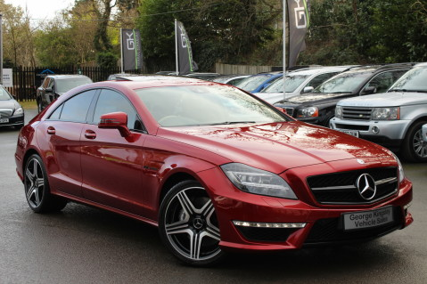 Mercedes-Benz CLS CLS63 5.5 AMG - 557BHP - HYACINTH RED - LANE ASSIST 1