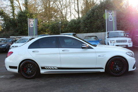 Mercedes-Benz C Class AMG C 63 S PREMIUM - CARBON INTERIOR/DISTRONIC PLUS 4
