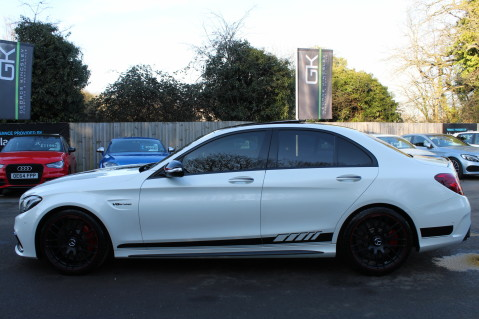 Mercedes-Benz C Class AMG C 63 S PREMIUM - CARBON INTERIOR/DISTRONIC PLUS 7