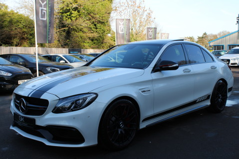 Mercedes-Benz C Class AMG C 63 S PREMIUM - CARBON INTERIOR/DISTRONIC PLUS 8