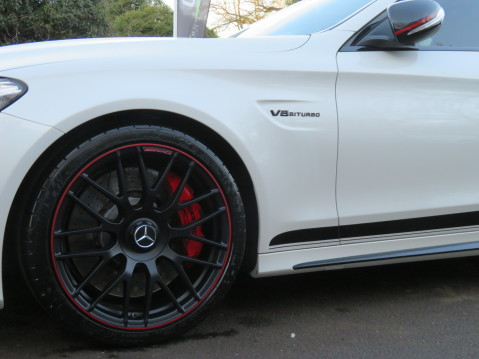 Mercedes-Benz C Class AMG C 63 S PREMIUM - CARBON INTERIOR/DISTRONIC PLUS 83