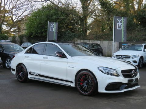 Mercedes-Benz C Class AMG C 63 S PREMIUM - CARBON INTERIOR/DISTRONIC PLUS 87