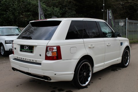 Land Rover Range Rover Sport TDV8 OVERFINCH SPORT HSE - RARE COLOUR COMBO - DIGITAL TV/SUNROOF/BESPOKE 4
