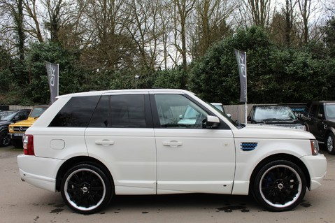 Land Rover Range Rover Sport TDV8 OVERFINCH SPORT HSE - RARE COLOUR COMBO - DIGITAL TV/SUNROOF/BESPOKE 5