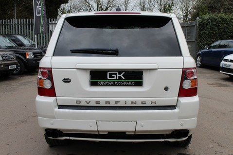 Land Rover Range Rover Sport TDV8 OVERFINCH SPORT HSE - RARE COLOUR COMBO - DIGITAL TV/SUNROOF/BESPOKE 6