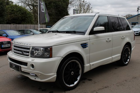 Land Rover Range Rover Sport TDV8 OVERFINCH SPORT HSE - RARE COLOUR COMBO - DIGITAL TV/SUNROOF/BESPOKE 8