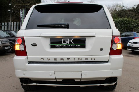 Land Rover Range Rover Sport TDV8 OVERFINCH SPORT HSE - RARE COLOUR COMBO - DIGITAL TV/SUNROOF/BESPOKE 12