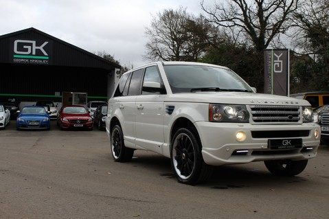Land Rover Range Rover Sport TDV8 OVERFINCH SPORT HSE - RARE COLOUR COMBO - DIGITAL TV/SUNROOF/BESPOKE 67