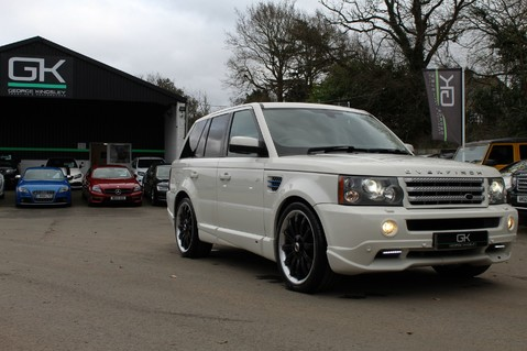 Land Rover Range Rover Sport TDV8 OVERFINCH SPORT HSE - RARE COLOUR COMBO - DIGITAL TV/SUNROOF/BESPOKE 68