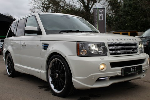 Land Rover Range Rover Sport TDV8 OVERFINCH SPORT HSE - RARE COLOUR COMBO - DIGITAL TV/SUNROOF/BESPOKE 72