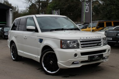 Land Rover Range Rover Sport TDV8 OVERFINCH SPORT HSE - RARE COLOUR COMBO - DIGITAL TV/SUNROOF/BESPOKE