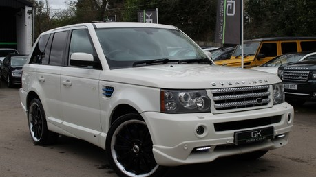 Land Rover Range Rover Sport TDV8 OVERFINCH SPORT HSE - RARE COLOUR COMBO - DIGITAL TV/SUNROOF/BESPOKE Video